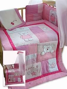 Bettwäsche Set Baby : 5 teiliges baby bettw sche set rosa b r gro handel ~ Markanthonyermac.com Haus und Dekorationen