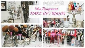 Idée Rangement Bijoux : mon rangement maquillage bijoux collaboration avec corrine miya youtube ~ Melissatoandfro.com Idées de Décoration