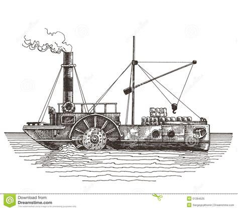 Barco A Vapor Primeiro by Plantilla Del Dise 241 O Del Logotipo Del Vector De La Nave