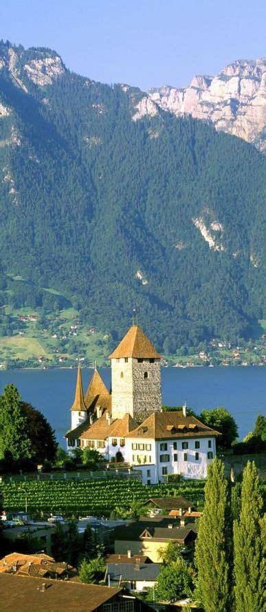 Spiez Castle Bern Switzerland Loving Switzerland