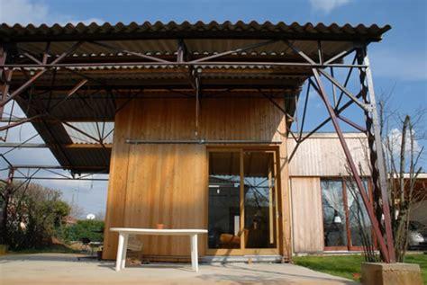 cuisine atypique d馗o maison bois dans hangar maison bois atypique