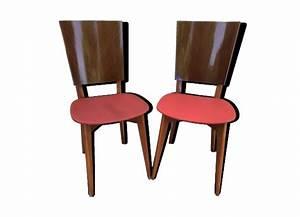 Chaise Scandinave Rouge : chaise rouge vintage ~ Teatrodelosmanantiales.com Idées de Décoration