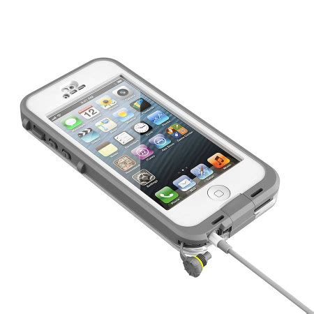 iphone 5 lifeproof lifeproof nuud for iphone 5 white