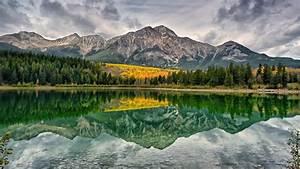 jasper, national, park, alberta, canada, pyramid, mountain