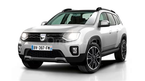 renault duster 2017 white 2017 dacia duster gets rendered