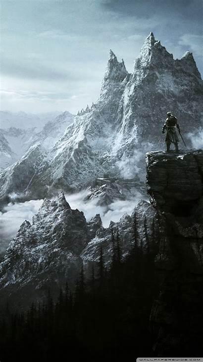 Skyrim Elder Scrolls 4k Wallpapers Iphone Phone