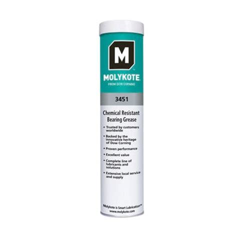 Dow Molykote™ 3451 Chemical Resistant Bearing Grease White