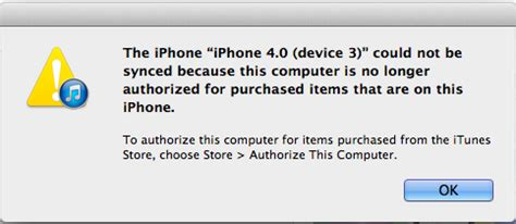 there are purchased items on the iphone the iphone could not be synced because this computer is 2591