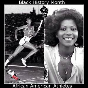 Black History Month Wilma Rudolph Track And Field 1956