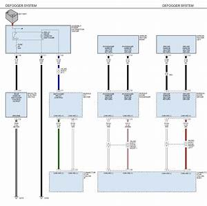 Wiring Diagram - Heated Mirrors