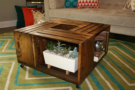 There are a few reasons that i really enjoy them though. DIY Wooden Wine Crate Coffee Table - Lee's Summit Lifestyle Magazine