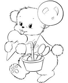 connect  dots teddy bear painting