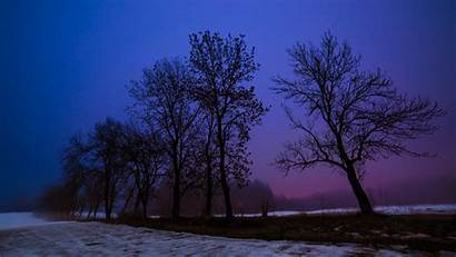 Winter Desktop Backgrounds Wallpapers Country Background Night