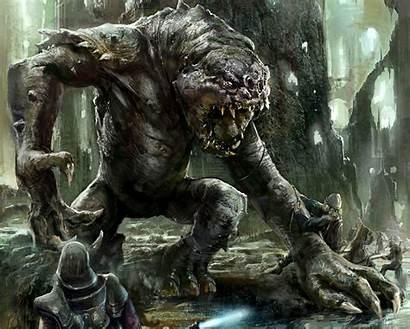 Rancor Bull Wars Star Monster Starwars Sci