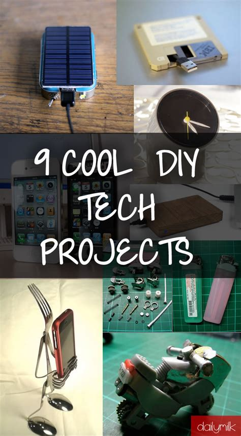 cool diy tech projects  impress  friends dailymilk