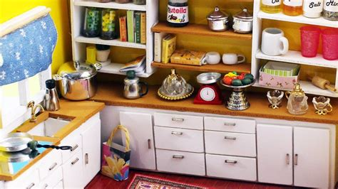 dollhouse kitchen accessories 10 easy diy miniatures kitchen things each in less than 1 3420