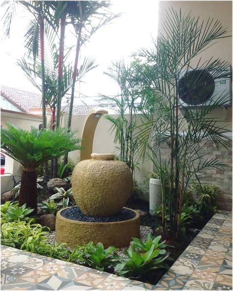 desain taman rumah minimalis mungil lahan sempit