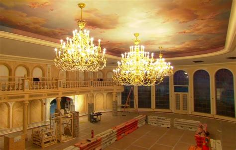 Be Our Guest Restaurant  Video Of Inside The Ballroom