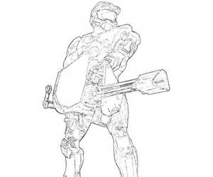 Halo 4 Coloring Pages