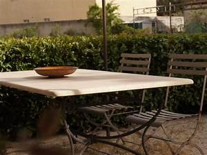 Table En Fer Forgé : table en fer forg fanny fabrication fran aise villa m lodie ~ Teatrodelosmanantiales.com Idées de Décoration
