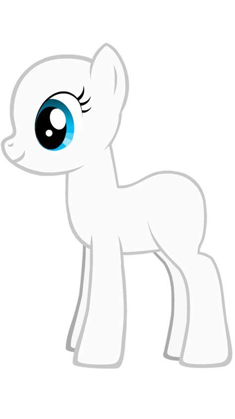 my pony template mlp unicorn template www imgkid the image kid has it