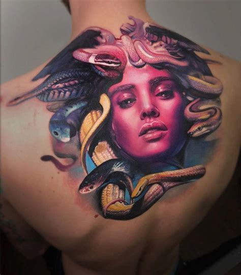 Discovering the Meaning of Medusa Tattoos and Symbols ...