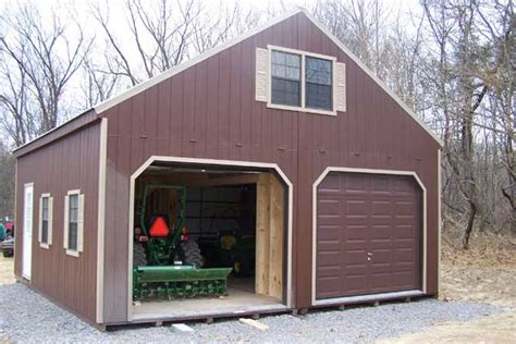 brath storage shed 2 story