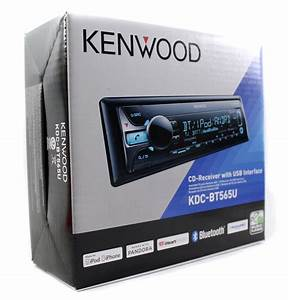 Kenwood Kdc Mp3 In Dash Car Player Usb  Aux