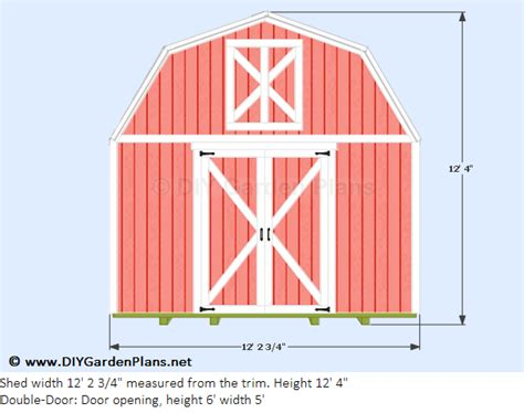 free gambrel shed plans 12x12 kehed free 10 x12 shed plans 8x32x50