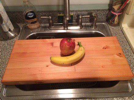 epoxy floor kitchen the sink cutting board made from 2x4s by 3584