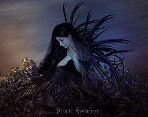 Sad Dark Fairy by Studiopranile on DeviantArt