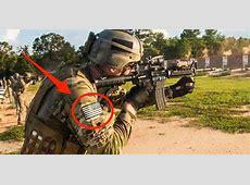 Warum die Flaggen auf den Uniformen von Soldaten