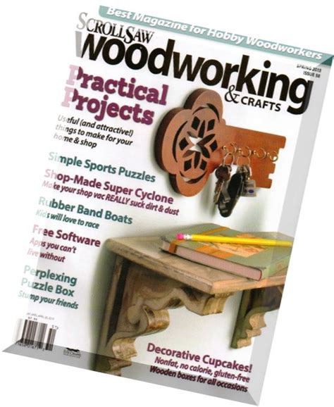 scrollsaw woodworking crafts issue  spring