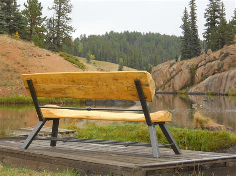 how to do it yourself log furniture kits