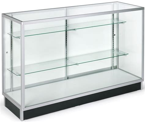 Glass Cabinet 5 Foot Display Counter Laminate Door