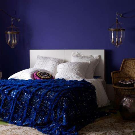 chambre en bleu 12 idées pour une décoration de chambre en bleu marine
