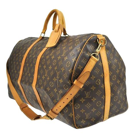 louis vuitton keepall bandouliere  travel carry  bag