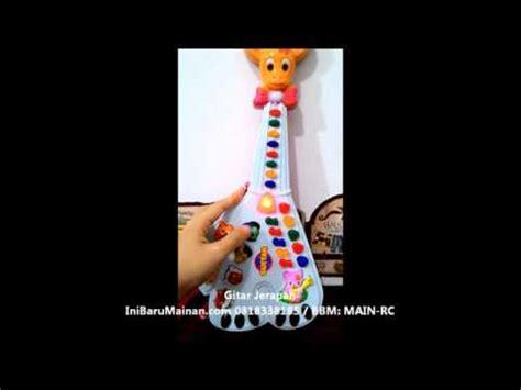 mainan musik anak gitar jerapah jual mainan edukasi anak musik gitar jerapah