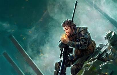Gear Metal Solid Snake Hideo Boss Naked