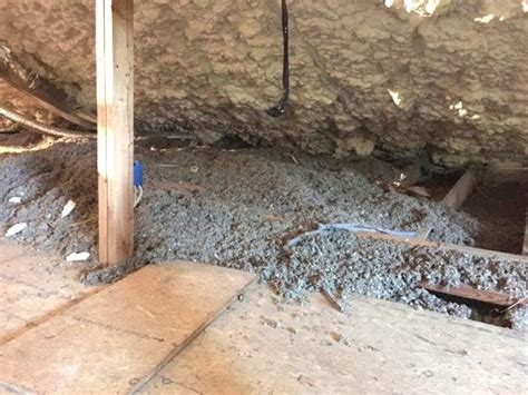 reasons  remove attic floor insulation   spray foam
