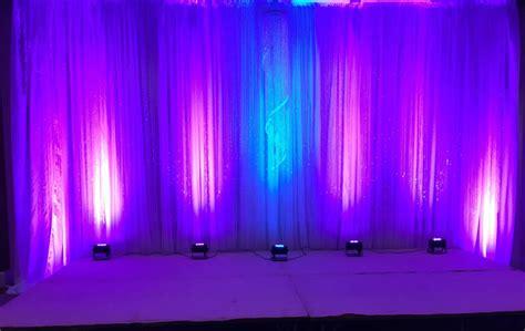floor l upward lighting uplighting gabro event services