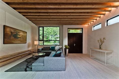Home Design Ecological Ideas by Ecological House In Montreal With Contemporary Exposed