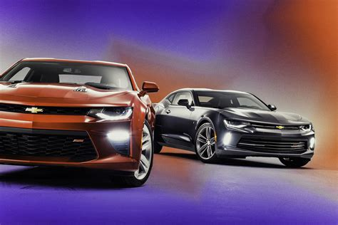 2016 Chevrolet Camaro Ss And Rs
