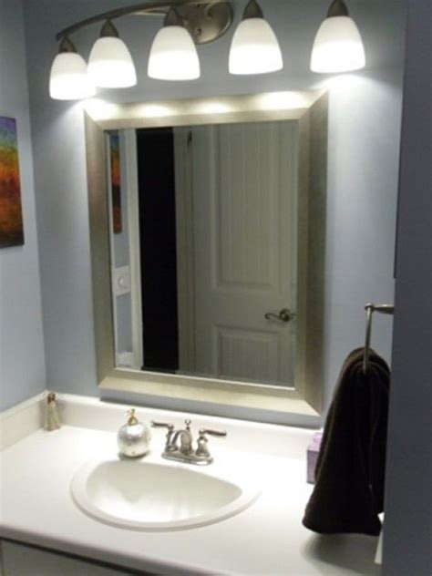 awesome bathroom led light fixtures  ideas bathroom