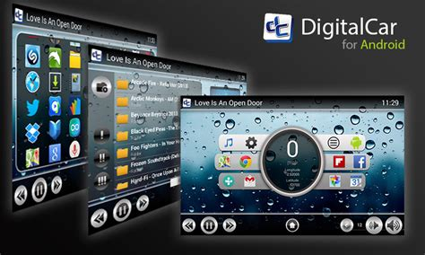 android car digital car front end for android tablet android