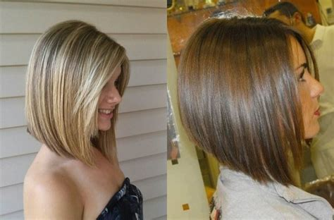 A Line Bob Haircut For Thin Hair