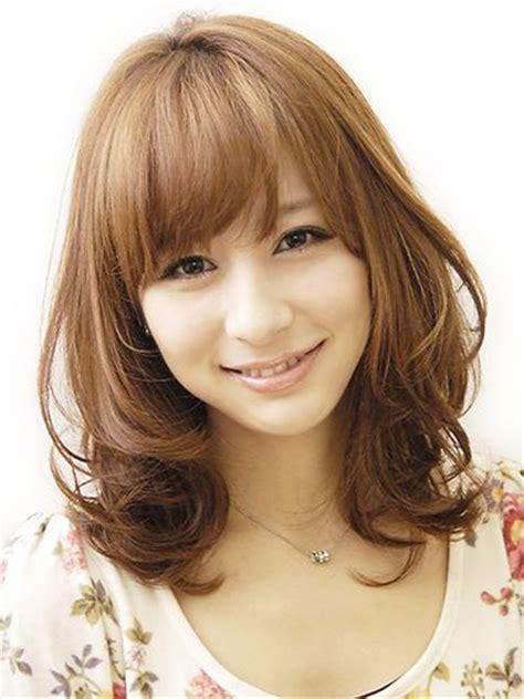 asia hair style 春オススメミディアム ミディアム japanese haircut haircuts and hair style 9218