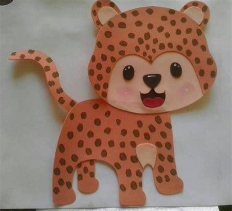 figuras en foami animales de la selva o safari bs 70 00 en mercado libre