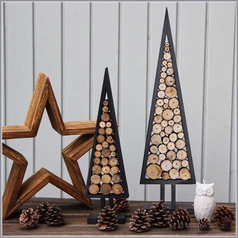 (Oh) Tannenbaumaus Holz in 2 Größen von Euli & Co auf