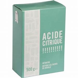 Ou Trouver De L Acide Citrique : acide citrique 500g leroy merlin ~ Dailycaller-alerts.com Idées de Décoration